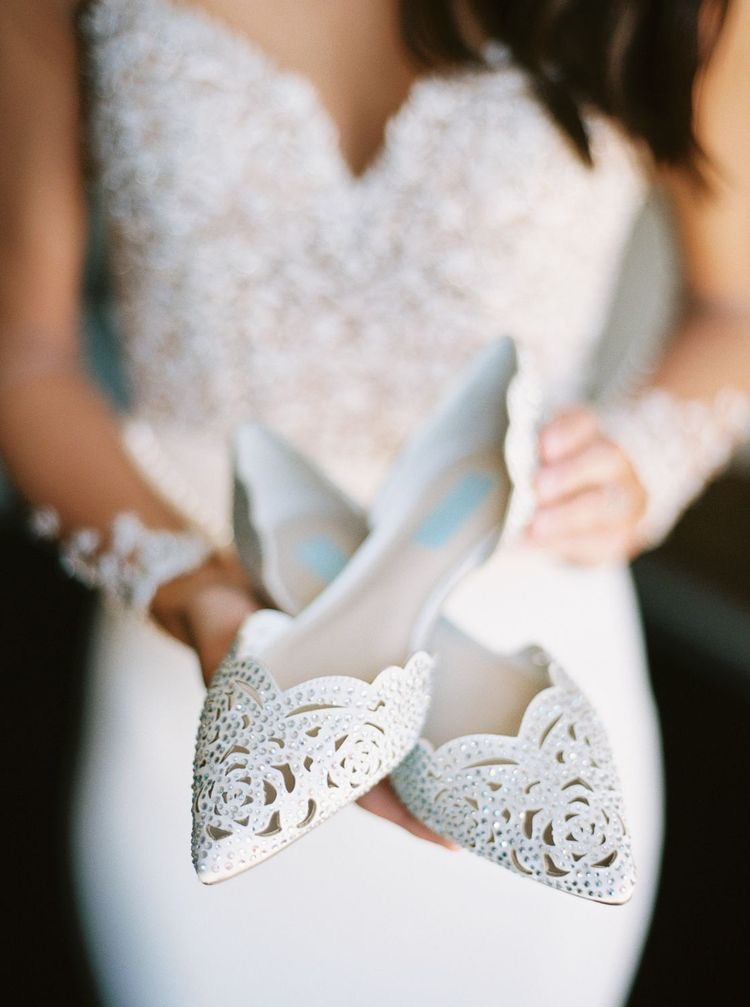 50 Beautiful Bridal Wedding Shoes Creative And Inspiration Page